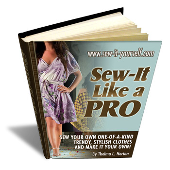 Picture of Sew-It-Like a Pro Book Cover