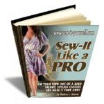 "E-Book: ""Sew-It Like a Pro"""