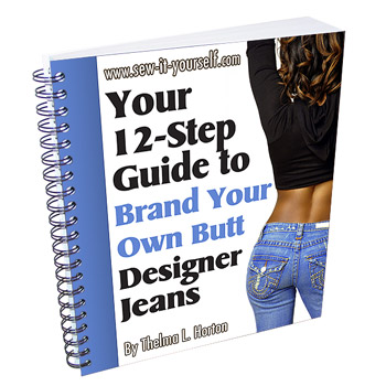 Brand Your Own Butt   Sew It Yourself - Fashion Sewing   Sew